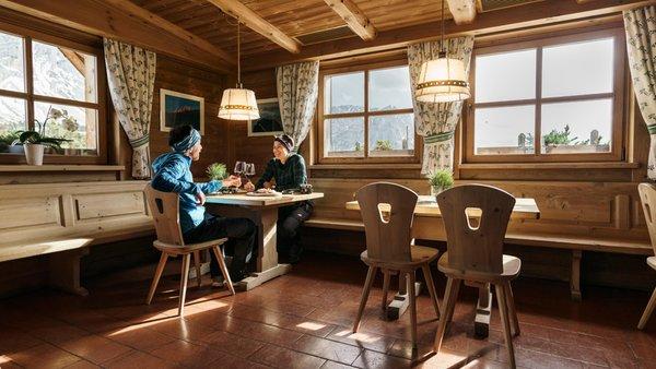 Il ristorante Antermoia (San Martino in Badia) Ütia de Börz