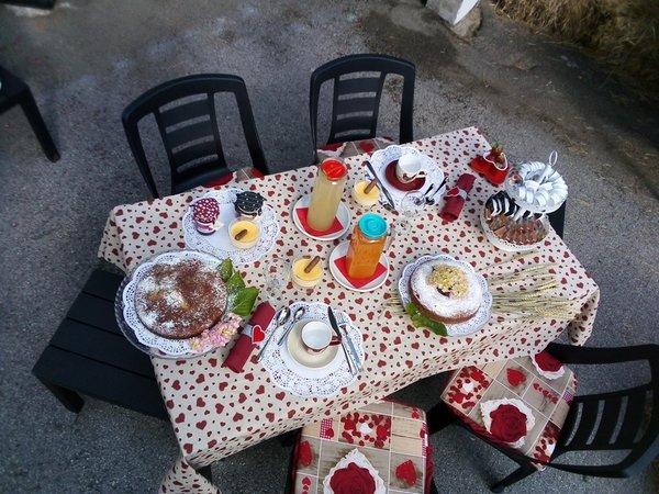 La colazione Bed & Breakfast Stella alPina
