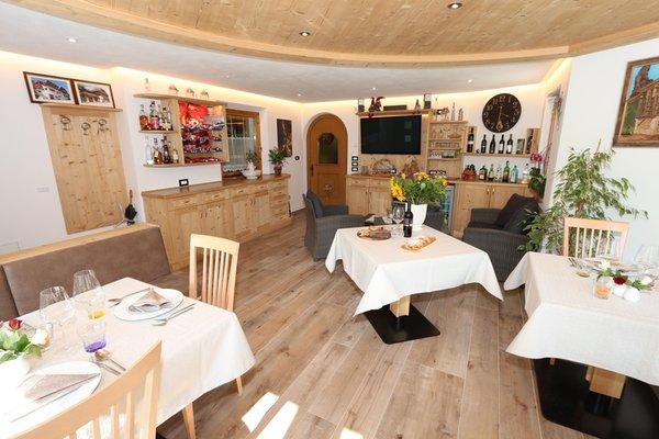 Il ristorante Longiarù (San Martino in Badia) Ciasa Linda