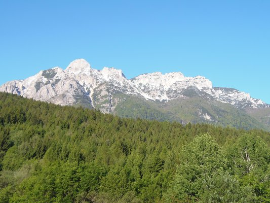 Panorama Centa San Nicolò (Altopiano della Vigolana)