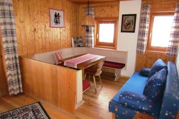 The living area Farmhouse apartments Lüch de Vanc'