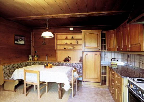 Foto della cucina Tlisöra - Speckstube