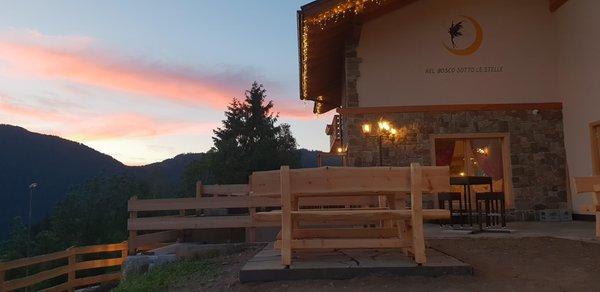 Foto esterno in estate Chalet Resort La Baita delle Fate
