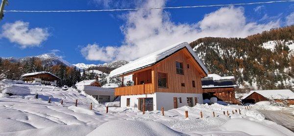 Foto esterno in inverno Fossè