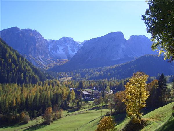 Panorama Longiarù (San Martino in Badia)
