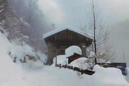 Apartment in hut Maso Tottn
