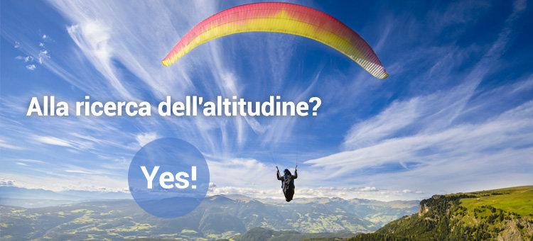 Alla ricerca dell'altitudine? Yes!
