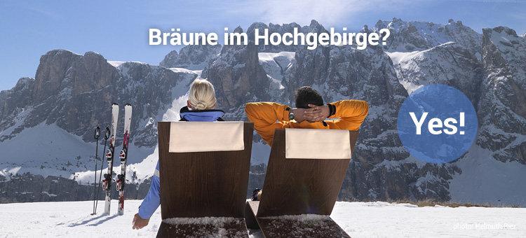 Bräune im Hochgebirge? Yes!