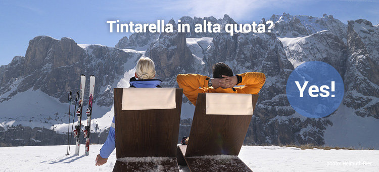Tintarella in alta quota? Yes!