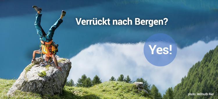 Verrückt nach Bergen? Yes!