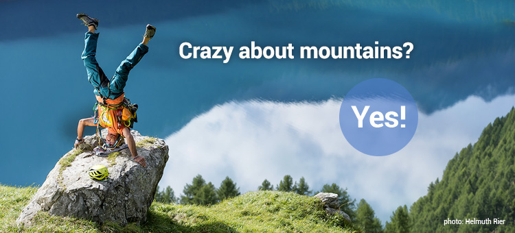 Crazy about mountains? Yes!