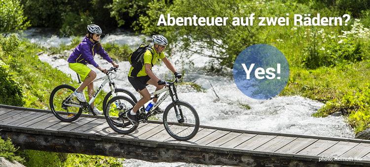 Abenteuer auf zwei Rädern? Yes!
