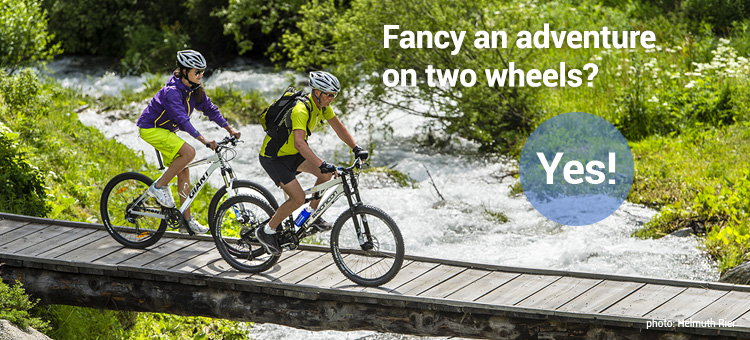Fancy an adventure on two wheels? Yes!