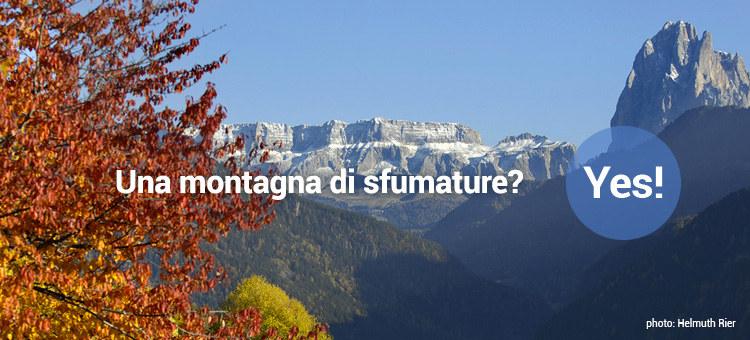 Una montagna di sfumature? Yes!
