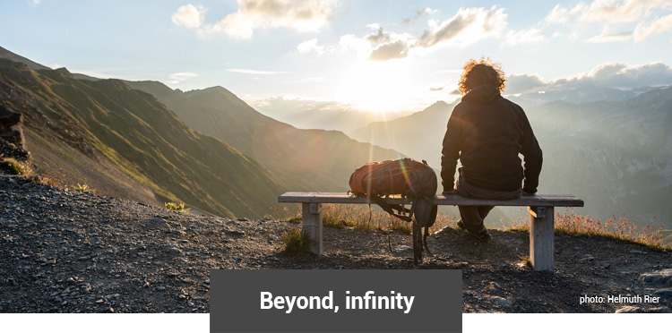 Beyond, infinity