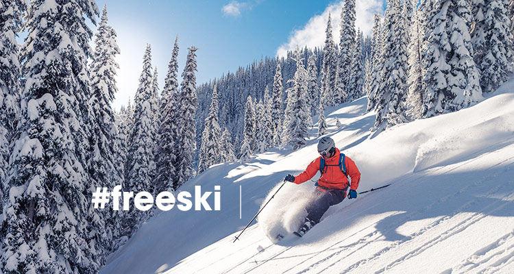 #freeski
