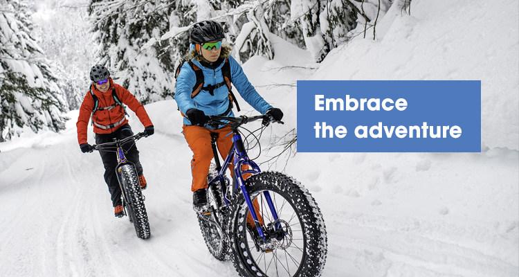 Embrace the adventure
