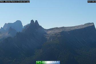 Webcam Monte Pelmo e Croda da Lago