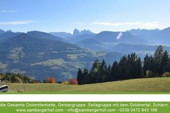 Webcam from Villandro / Villanders towards the Dolomites